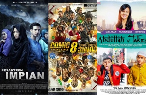 12 Film yang Tayang di Bulan Maret