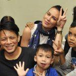 Ariel Noah & Sophia Mueller Kunjungi Anak-Anak Penderita Kanker