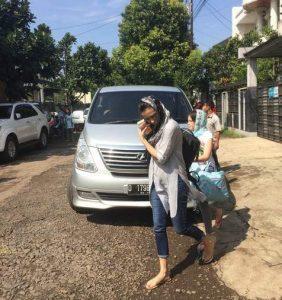 Sophia Latjuba Kembali Datangi Rumah Ariel NOAH