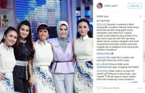 Zaskia Gotik Dihujat Gara-Gara Hina Indonesia