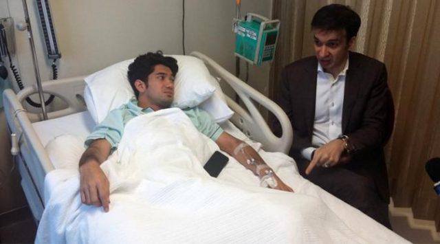 Inilah Kondisi Reza Rahadian Ketika di Rumah Sakit